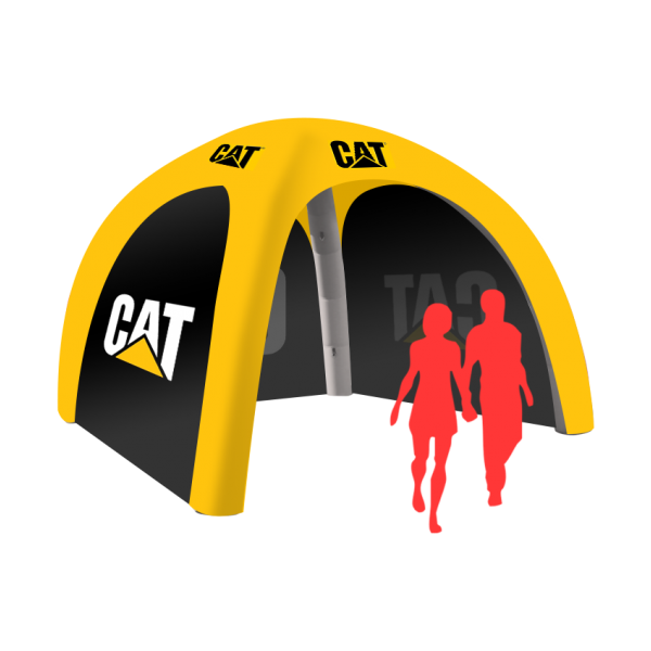 custom event inflatable tent