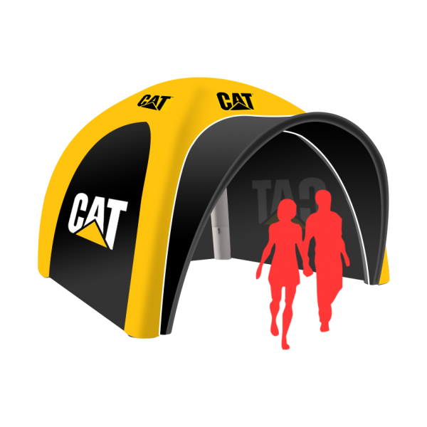 Logo pop up inflatable tent