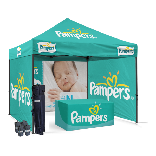 vendor pop up tent