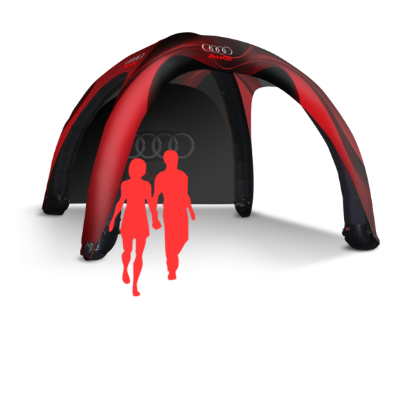 popup party inflatable tent