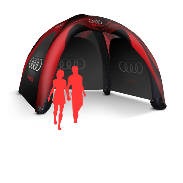 17x17 Inflatable Tent Package #7