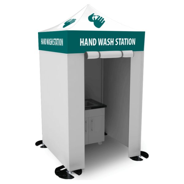 5X5 Hand-Washing / Sanitizing Station