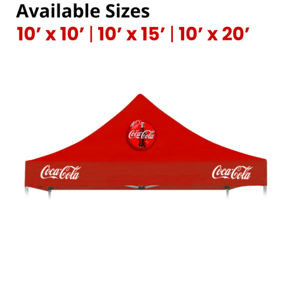 Custom Printed Canopy Top