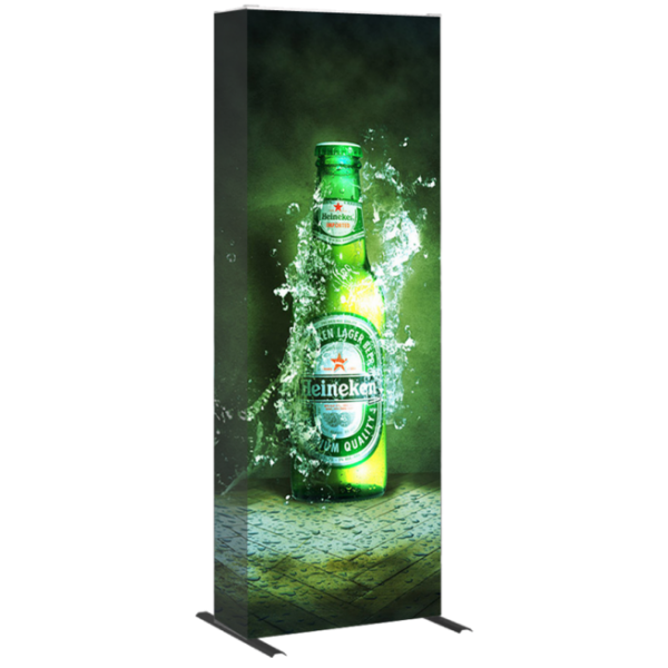 Hopup 2.5ft Popup Display With Endcap (Straight)