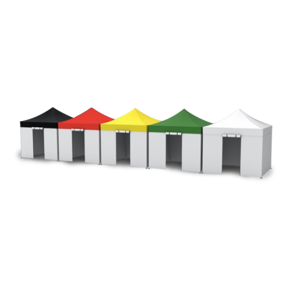 10X10 Heavy Duty Medical Tents – Color Coded