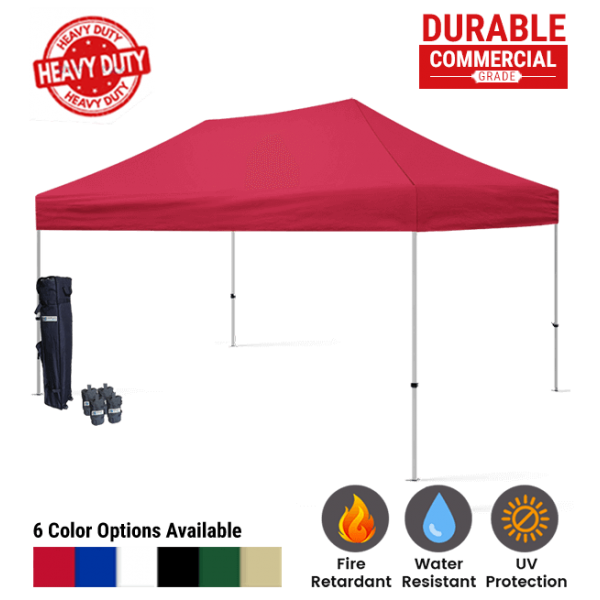 10x15 Blank Pop Up Canopy Tent