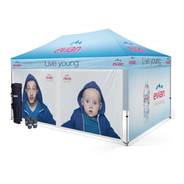 Personalized tent