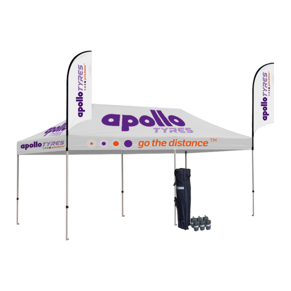 Branded tents tent