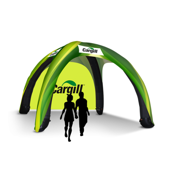 custom pop up inflatable tent
