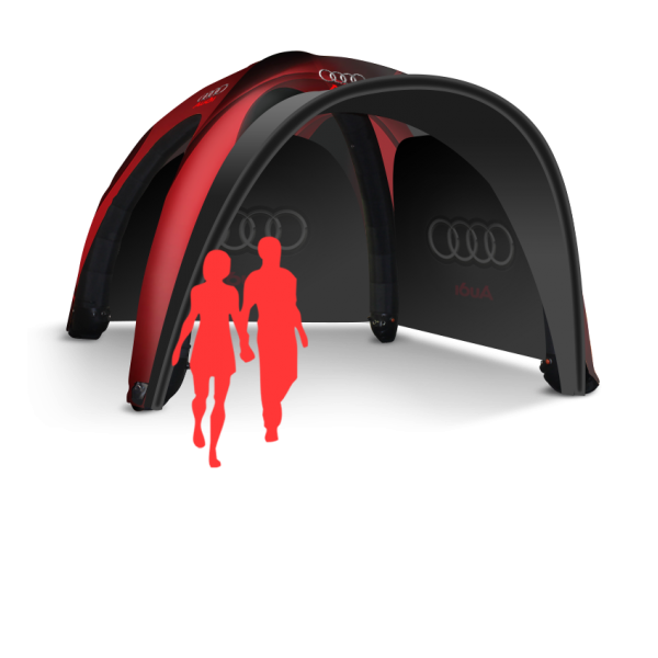 Commercial pop up inflatable tent