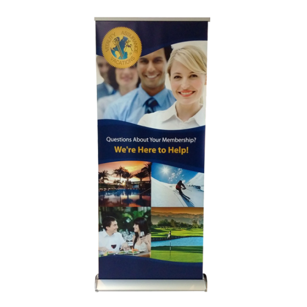 portable retractable banner stand